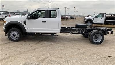 2021 Ford F-550 Super Cab DRW 4x4, Cab Chassis #FH21130 - photo 5