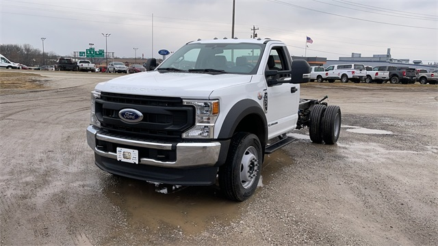 2021 Ford F-600 Regular Cab DRW 4x4, Cab Chassis #FH21131 - photo 4