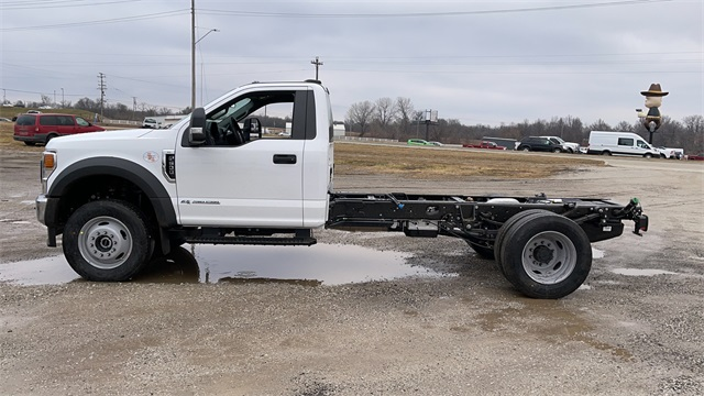 2021 Ford F-600 Regular Cab DRW 4x4, Cab Chassis #FH21131 - photo 5