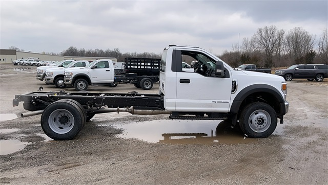 2021 Ford F-600 Regular Cab DRW 4x4, Cab Chassis #FH21131 - photo 9