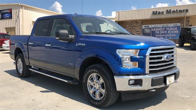 2017 Ford F-150 SuperCrew Cab 4x4, Pickup #10374P - photo 1