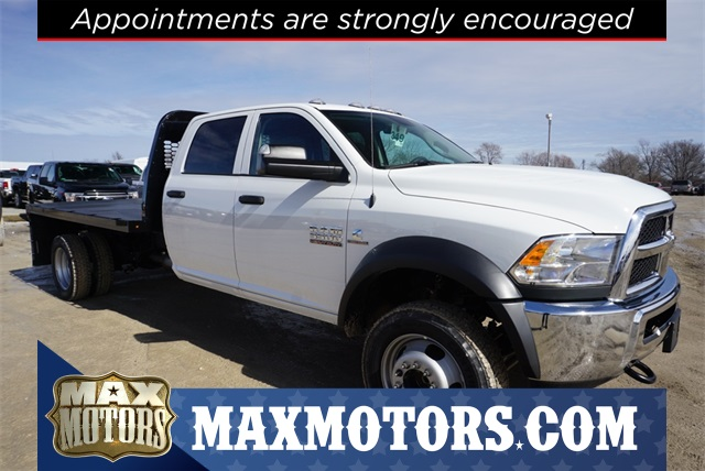 2018 Ram 5500 Crew Cab DRW 4x4,  Knapheide Dump Body #30664 - photo 1