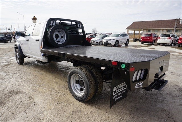 2018 Ram 5500 Crew Cab DRW 4x4,  CM Truck Beds Platform Body #30692 - photo 16
