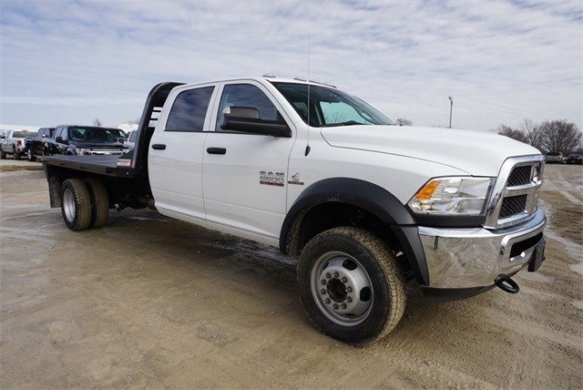 2018 Ram 5500 Crew Cab DRW 4x4,  CM Truck Beds Platform Body #30692 - photo 24