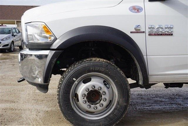 2018 Ram 5500 Crew Cab DRW 4x4,  CM Truck Beds Platform Body #30692 - photo 7