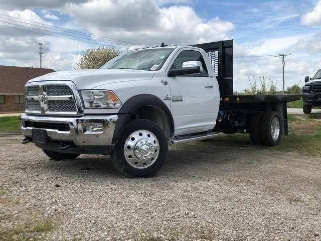2018 Ram 5500 Regular Cab DRW 4x4,  Knapheide Platform Body #30733 - photo 5