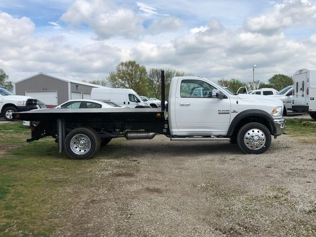 2018 Ram 5500 Regular Cab DRW 4x4,  Knapheide Platform Body #30733 - photo 6