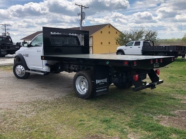 2018 Ram 5500 Regular Cab DRW 4x4,  Knapheide Platform Body #30733 - photo 7