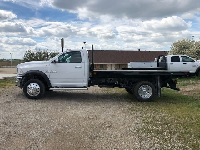 2018 Ram 5500 Regular Cab DRW 4x4,  Knapheide Platform Body #30733 - photo 8