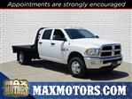 2018 Ram 3500 Crew Cab DRW 4x4,  CM Truck Beds Platform Body #30749 - photo 1