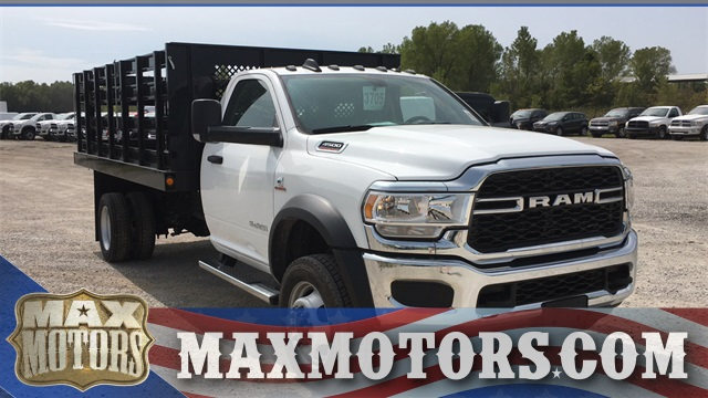 2019 Ram 4500 Regular Cab DRW 4x2, Parkhurst Stake Bed #40517 - photo 1
