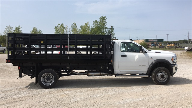 2019 Ram 4500 Regular Cab DRW 4x2, Parkhurst Toughline Stake Bed #40517 - photo 10