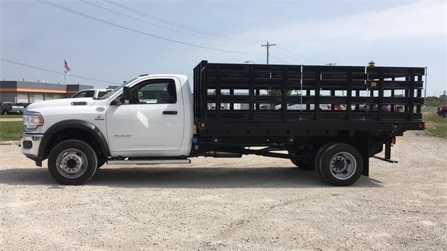 2019 Ram 4500 Regular Cab DRW 4x2, Parkhurst Toughline Stake Bed #40517 - photo 5