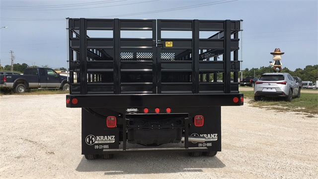 2019 Ram 4500 Regular Cab DRW 4x2, Parkhurst Toughline Stake Bed #40517 - photo 8