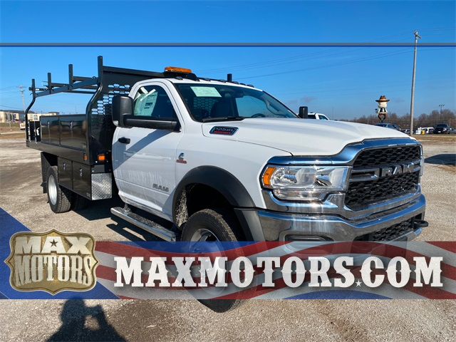 2019 Ram 5500 Regular Cab DRW 4x4, Knapheide Contractor Body #40851 - photo 1