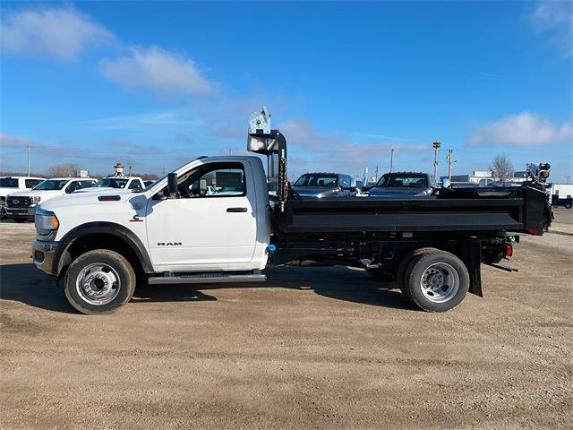 2020 Ram 5500 Regular Cab DRW 4x4, Knapheide Drop Side Dump Body #50128 - photo 5