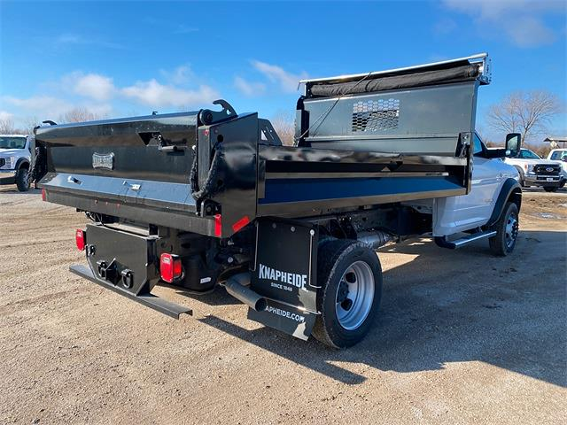 2020 Ram 5500 Regular Cab DRW 4x4, Knapheide Drop Side Dump Body #50128 - photo 8