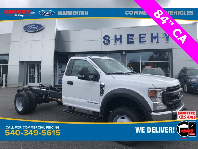 2020 Ford F-550 Regular Cab DRW 4x4, Cab Chassis #YA00860 - photo 1