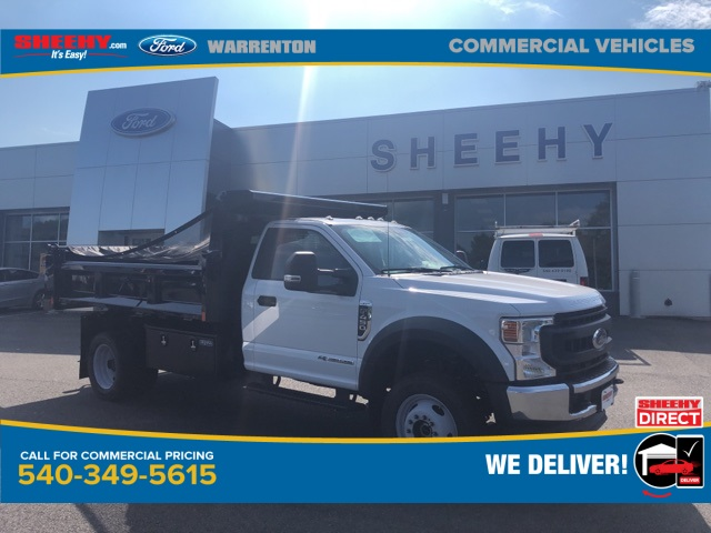 2020 Ford F-450 Regular Cab DRW 4x4, Rugby Dump Body #YA04665 - photo 1