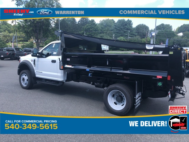 2020 Ford F-550 Regular Cab DRW 4x4, Rugby Dump Body #YA04671 - photo 1