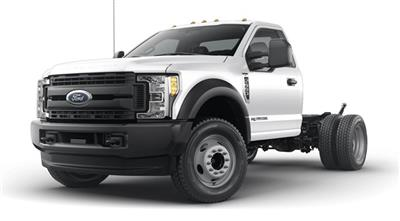 2019 F-550 Regular Cab DRW 4x4, High Roof Enclosed Service Body  #YA08741 - photo 1