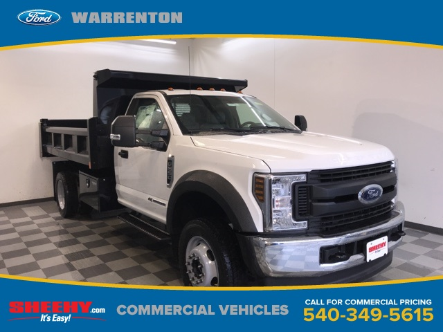2019 F-550 Regular Cab DRW 4x4,  Rugby Dump Body #YA08742 - photo 1