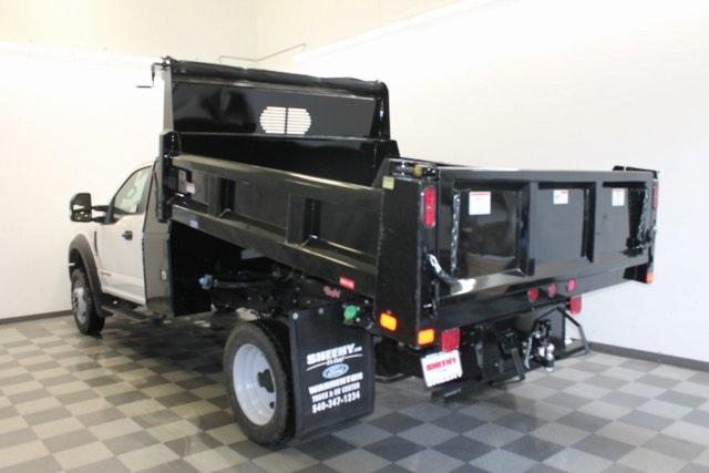 2019 F-450 Regular Cab DRW 4x4,  Rugby Dump Body #YA08792 - photo 1