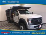 2019 F-550 Regular Cab DRW 4x4,  PJ's Landscape Dump #YA08857 - photo 1