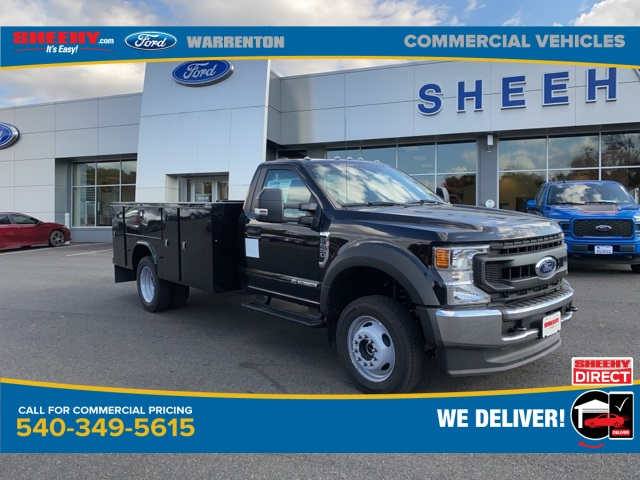 2020 Ford F-550 Regular Cab DRW 4x4, Knapheide Service Body #YA09194 - photo 1