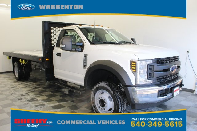 2019 F-550 Regular Cab DRW 4x2,  Knapheide Platform Body #YA10217 - photo 1