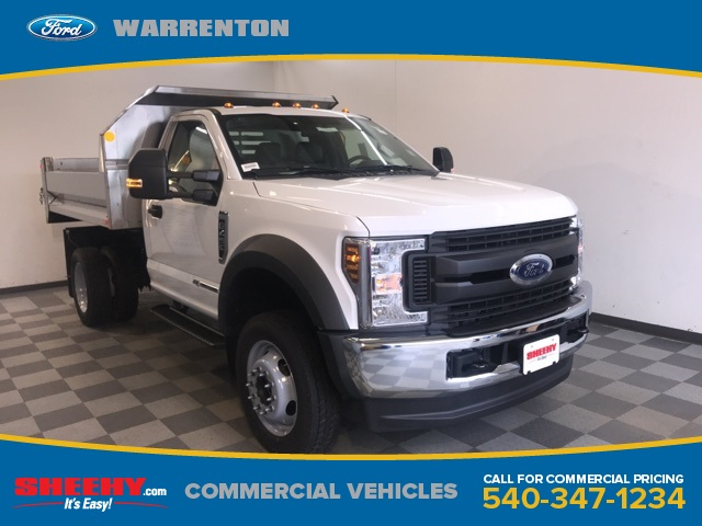 2019 F-450 Regular Cab DRW 4x4,  Monroe Dump Body #YA11202 - photo 1