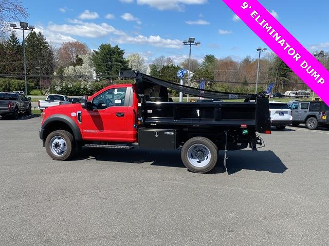 2020 Ford F-550 Regular Cab DRW 4x4, Rugby Eliminator LP Steel Dump Body #YA11712 - photo 7