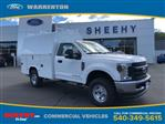 2019 F-350 Regular Cab 4x4, Medium roof enclosed service body  #YA12869 - photo 1