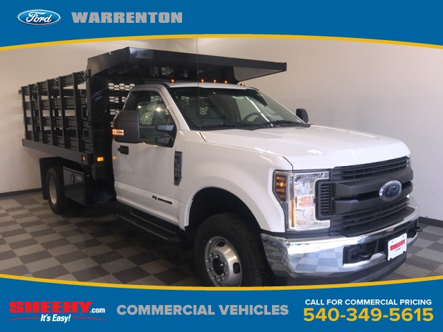 2019 F-350 Regular Cab DRW 4x4, Knapheide Stake Bed #YA12871 - photo 1