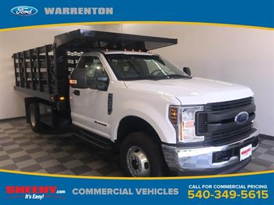 2019 F-350 Regular Cab DRW 4x4,  Knapheide Value-Master X Stake Bed #YA12871 - photo 1