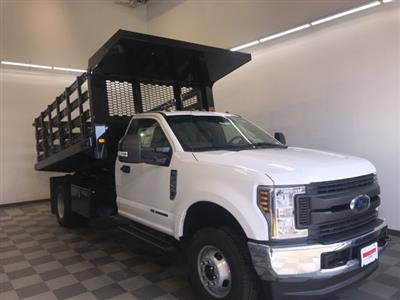 2019 F-350 Regular Cab DRW 4x4,  Knapheide Value-Master X Stake Bed #YA12871 - photo 9