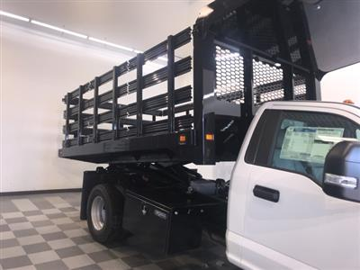 2019 F-350 Regular Cab DRW 4x4,  Knapheide Value-Master X Stake Bed #YA12871 - photo 10