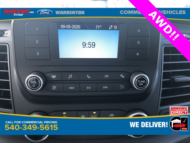 2020 Ford Transit 250 Med Roof AWD, Empty Cargo Van #YA13234 - photo 12