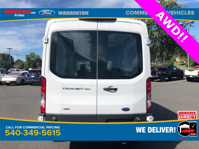 2020 Ford Transit 250 Med Roof AWD, Empty Cargo Van #YA13234 - photo 8