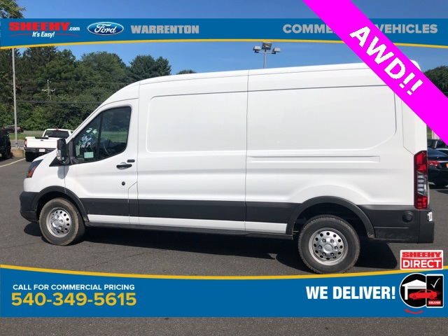 2020 Ford Transit 250 Med Roof AWD, Empty Cargo Van #YA13234 - photo 9
