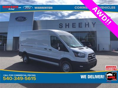 2020 Ford Transit 250 Med Roof AWD, Empty Cargo Van #YA13234 - photo 1