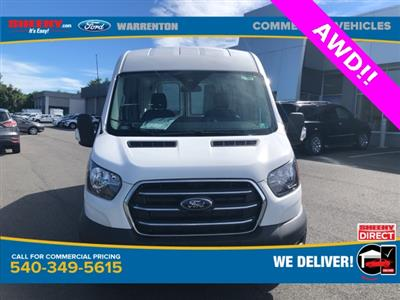 2020 Ford Transit 250 Med Roof AWD, Empty Cargo Van #YA13234 - photo 3
