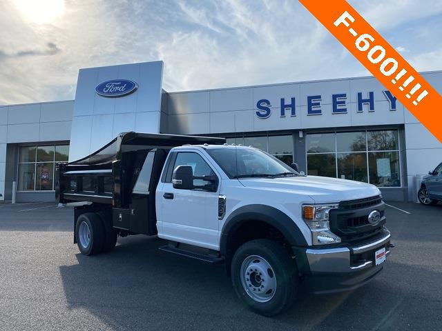 2020 Ford F-600 Regular Cab DRW 4x4, Rugby Dump Body #YA13965 - photo 1