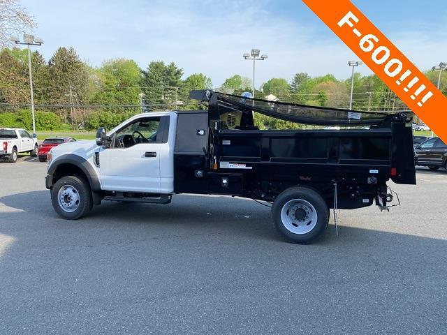 2020 Ford F-600 Regular Cab DRW 4x4, Rugby Eliminator LP Steel Dump Body #YA13965 - photo 9