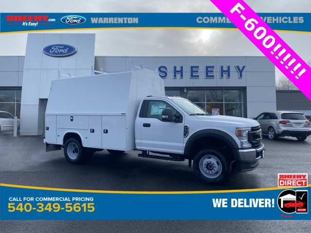 2020 Ford F-600 Regular Cab DRW 4x4, Knapheide Service Body #YA14753 - photo 1