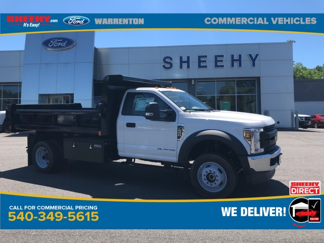 2019 Ford F-550 Regular Cab DRW 4x4, Rugby Dump Body #YA17664 - photo 1