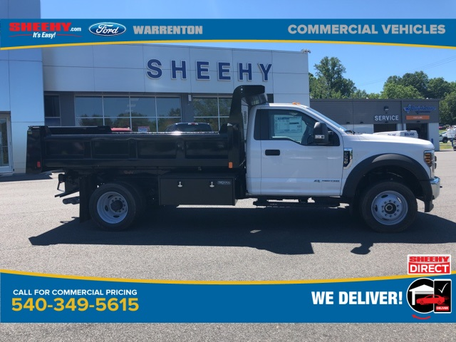 2019 F-550 Regular Cab DRW 4x4, Rugby Eliminator LP Steel Dump Body #YA17664 - photo 2