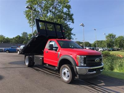 2019 F-550 Regular Cab DRW 4x4,  Knapheide Value-Master X Platform Body #YA17896 - photo 6