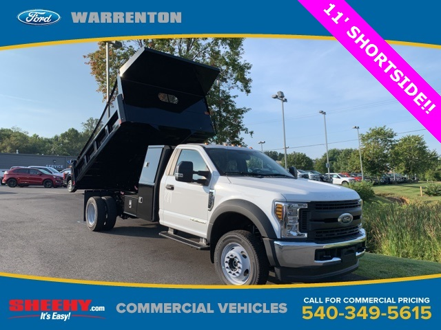 2019 F-550 Regular Cab DRW 4x4, Rugby Dump Body #YA19060 - photo 1