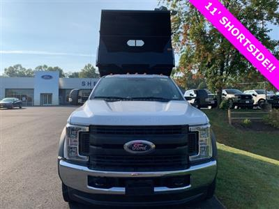 2019 F-550 Regular Cab DRW 4x4, Rugby Eliminator LP Steel Dump Body #YA19060 - photo 5
